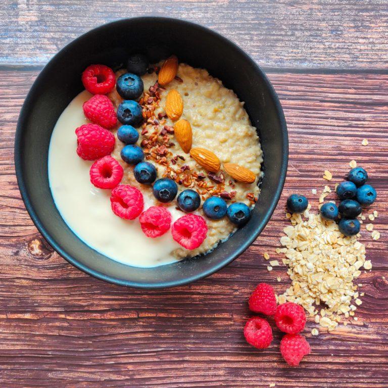 Read more about the article Porridge mit Beeren