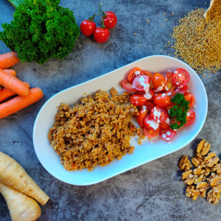 Read more about the article Nuss-Grünkernpfanne mit Gemüse