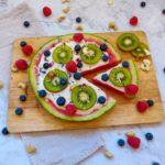 Wassermelonen Beeren Pizza PCOS freundlich Foodziska