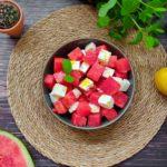 PCO Rezept Ernährung Wassermelonen Feta Salat