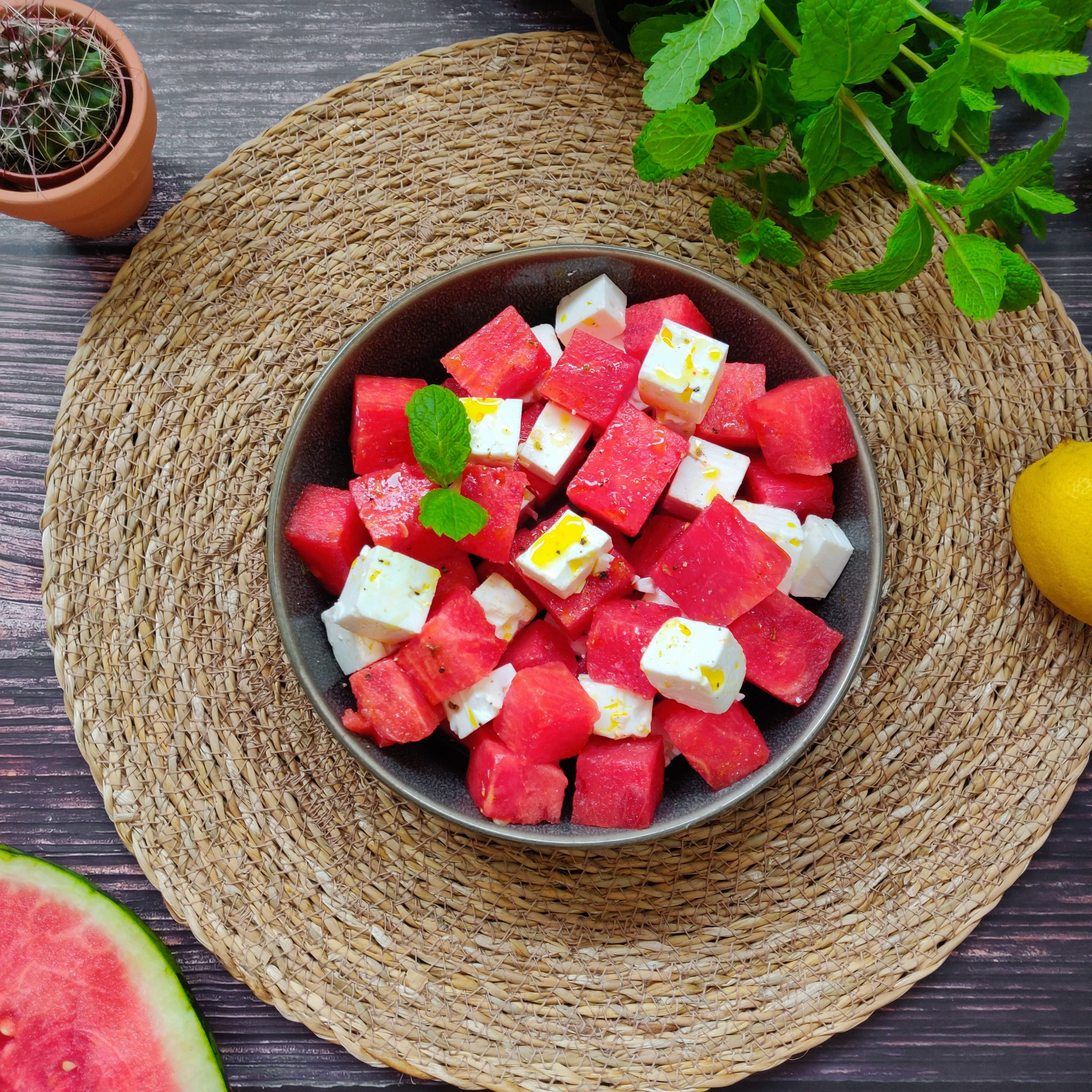 You are currently viewing Wassermelonen Feta Salat