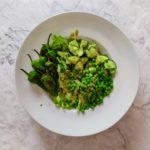grüner Salat Foodziska PCOS Rezept Ernährung